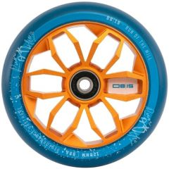 Run Of The Mill 120mm Alloy Core Wheel Blue/Gold