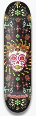 HYDROPONIC MEXICAN SKULL Black Catrina DECK ONLY 8.25