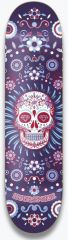 HYDROPONIC MEXICAN SKULL Blue DECK ONLY 8.25