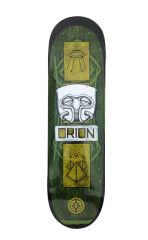 Orion What if Green on Black Deck 8.5