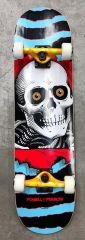 Powell-Peralta Ripper One Off Light Blue Complete Skateboard 8.0