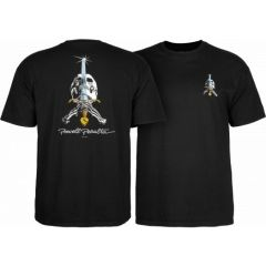 חולצה Powell Peralta Skull & Sword T-shirt - Black
