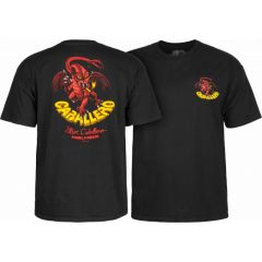 חולצה Powell Peralta Steve Caballero Original Dragon T-shirt - Black
