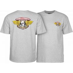 חולצה Powell Peralta Winged Ripper T-shirt - Gray