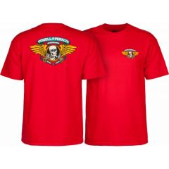 חולצה Powell Peralta Winged Ripper T-shirt - Red