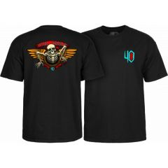 חולצה Powell Peralta 40th Anniversary Winged Ripper T-shirt Black