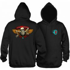 Powell Peralta 40th Anniversary Winged Ripper Hooded Sweatshirt Black