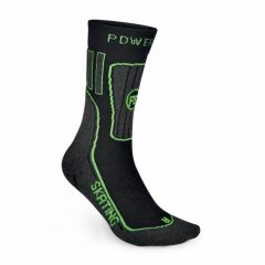 POWERSLIDE SOCKS  ANATOMICALLY FORMED ASYMMETRICAL LEFT AND RIGHT