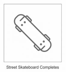 BUILD YOUR OWN COMPLETE SKATEBOARD 8.375 - 8.60