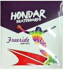 HONDAR FREERIDE GRIPTAPE RED 10''X11'' 4 SHEETS