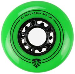 FLYING EAGLE RX WINGS WHEELS GREEN 4 PCS