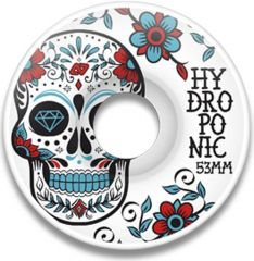 Hydroponic MEXICAN SKULL TURQUOISE Skate Wheels 53mm 100A