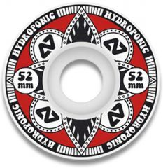 Hydroponic LOTUS RED Skate Wheels 52mm 100A