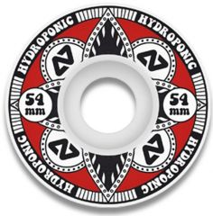 Hydroponic LOTUS RED Skate Wheels 54mm 100A