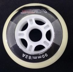SEBA CK 90MM 82A WHEEL WHITE