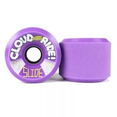 CLOUD RIDE Slide 70MMX38mm 86A WHEELS set of 4