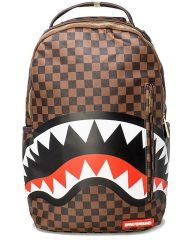 SPRAYGROUND SHARKS IN PARIS BACKPACK GOLD ZIPPER