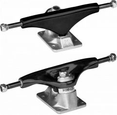 Mini Logo Trucks 8.0'' Split Black/Raw (Set of 2)