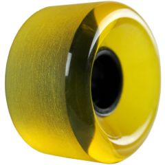 USA WHEEL 65mmX30mm Wheel 78A Shaved Transparent Yellow