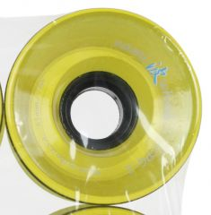 USA Wheel 65mm x 45mm 78A Clear Yellow