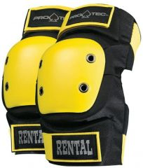 Protec Black/Yellow Rental Elbow Pad