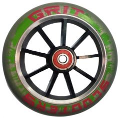 Grit Scooter Wheel Alloy Core 120mm RED GREEN