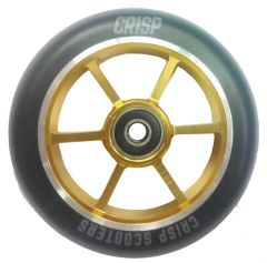 CRISP SCOOTERS110mm Scooter Wheel Alloy Core gold