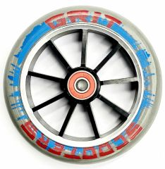 Grit Scooter Wheel Alloy Core 120mm red blue