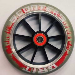 Grit Scooter Wheel Alloy Core 120mm RED