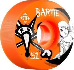 Bones STF Bartie Angel 51mm Orange V1