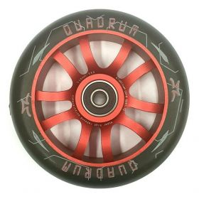 AO Quadrum 110mm Scooter Wheel Alloy Core Red