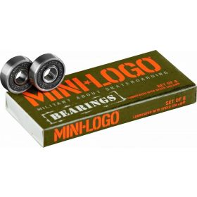 Mini Logo Bearings Series 3 8mm 8pk מיסבים