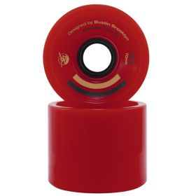 Bustin Premier Formula 70mm 80a Red