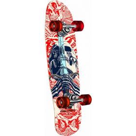 Powell-Peralta Mini Skull & Sword White Complete Skateboard