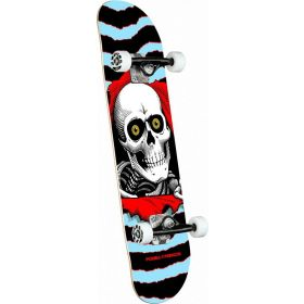 Powell-Peralta Ripper One Off Light Blue Complete Skateboard