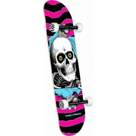 Powell-Peralta Ripper One Off Pink 7.75 Complete Skateboard