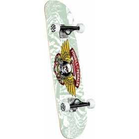 Powell-Peralta Winged Ripper White Complete Skateboard