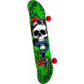 סקייטבורד Powell Peralta Skull and Snake One Off Green 7.75 Complete Skateboard