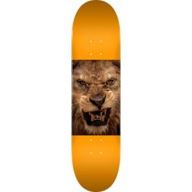 MINI LOGO CHEVRON ANIMAL LION 8.25 SKATEBOARD DECK