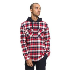 DC Runnels Long Sleeve Hooded Flannel Shirt 3