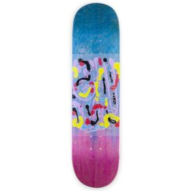 קרש לסקייטבורד HABITAT JANOSKI ELENA ABSTRACT 8.375 DECK