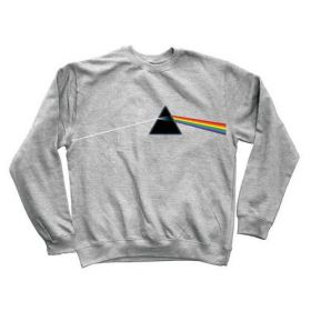 Habitat X Pink Floyd Dark Side of The Moon Athletic Heather Crew Sweatshirt