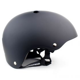 Industrial Helmet Flat Burnt Black