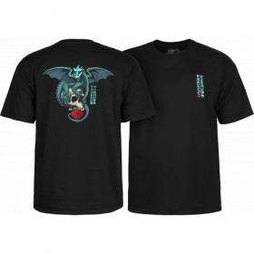 חולצה Powell Peralta T-shirt Dragon Skull Black