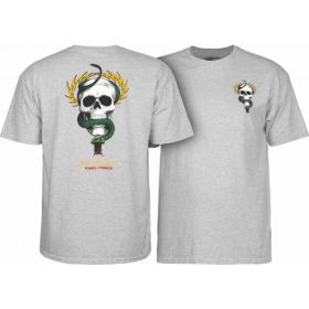 חולצה Powell Peralta Mike McGill Skull & Snake T-shirt - Gray