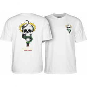 חולצה Powell Peralta Mike McGill Skull & Snake T-shirt - White