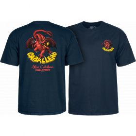 חולצה Powell Peralta Steve Caballero Original Dragon T-shirt - Navy