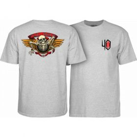 חולצה Powell Peralta 40th Anniversary Winged Ripper T-shirt Gray