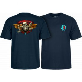 חולצה Powell Peralta 40th Anniversary Winged Ripper T-shirt Navy