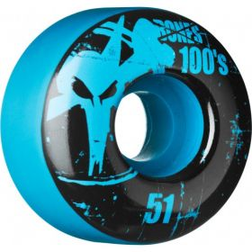 Bones Wheels 100 Slims 51mm - Blue (4 pack)